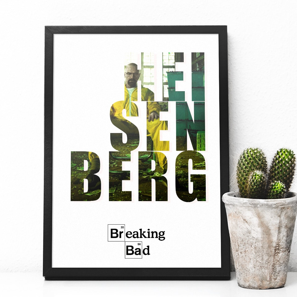 Quadro Breaking Bad Heinsenberg